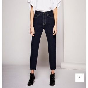 CURRENT/ELLIOTT Vintage Cropped Slim Jeans